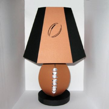 American Football/Rugby Ball Lamp Template